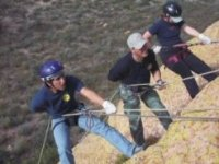 Learning rappelling