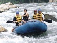 Toda la diversión del Rafting