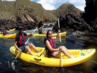 Kayaking in the Pacific