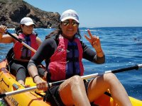 Paddling in the Cortes Sea