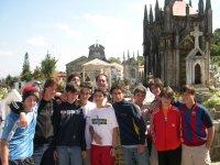High school walk excursion