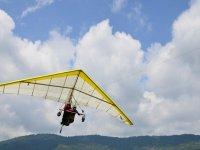 Flying in Ixtapan
