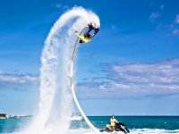 Flyboard pirouettes