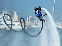 Somersault on the flyboard