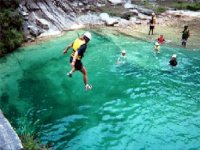Canyoning with groups