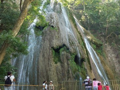 Tour Cascada Cola de Caballo y a Villa de Santiago