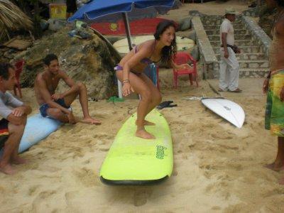 Clase de Surf 2 horas en Puerto Escondido