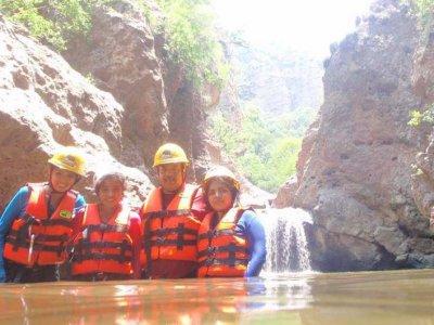 Guanajuato Expediciones de Aventura Cañonismo