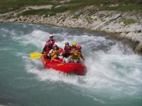 Rapids and descent