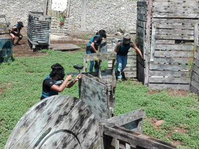 250 paintballs in Mérida