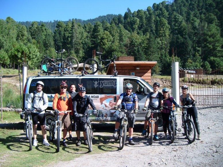 Transporte para ti y tu bici