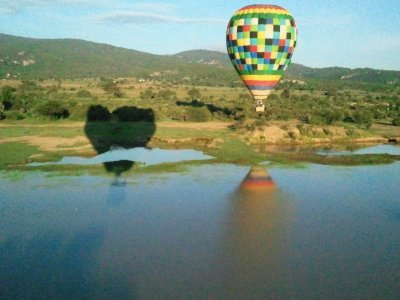 Balloon flight with accommodation and dinner