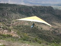 Trip in hang gliding