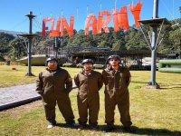 Celebra una fiesta con tematica militar