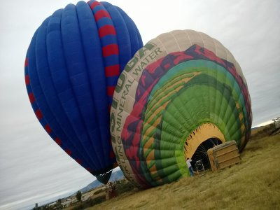 Balloon Flight with cabin lodging in Huasca
