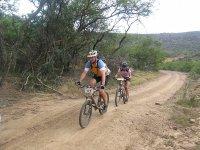 Paseo de ciclismo de montaña