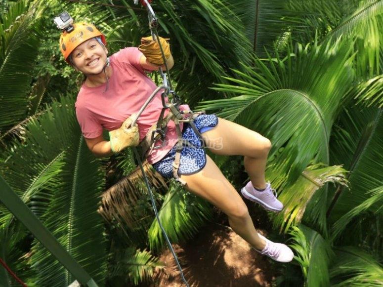 Día de aventura en la selva de Puerto Vallarta
