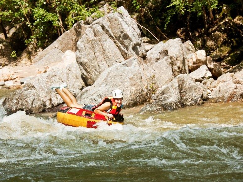 Rafting en Río Cuale
