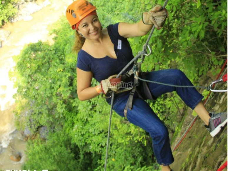 Rappel in Puerto Vallarta