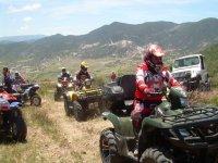 ATVs underway