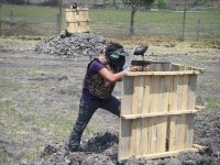 200 Balls Paintball on Gotcha Field Cuerna