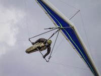 Flight after the course of the Delta wing
