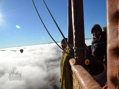 Private balloon flight in Huasca Ocampo