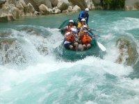 rafting en rapidos