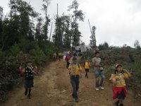 Trekking for boyscouts