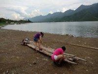 Putting the raft