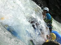 Rafting in a fast