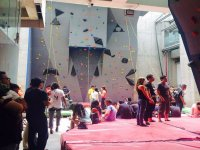 Wall for the practice of Sport Climbing