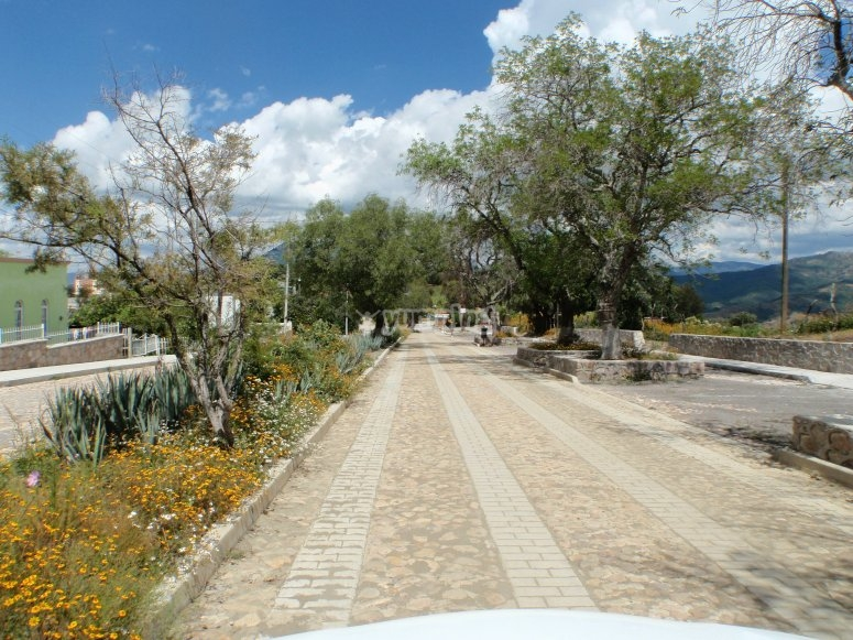 Paved routes