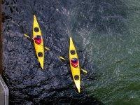 Practice kayaks