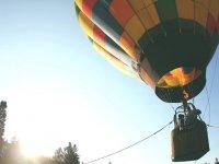 On a balloon