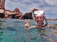 Snorkel with friends