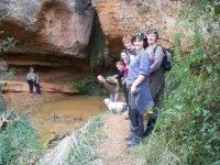 caminata por cuevas