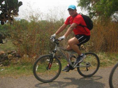 Teotihuacán en Bicicleta Ciclismo de Montaña