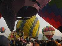 inflando globos