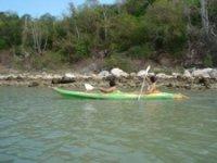 Kayak en Campeche