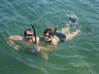 Snorkel en parejas
