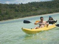 Practica kayak