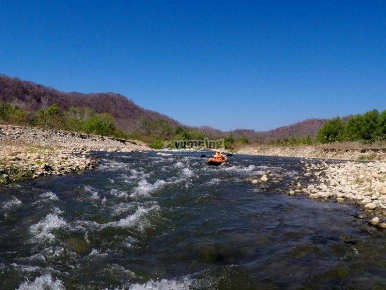 Río para rafting