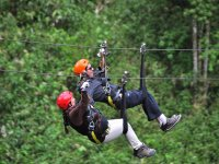 Zipline with friends
