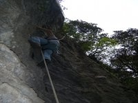 Free hand climbing