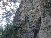 A bit of climbing descent