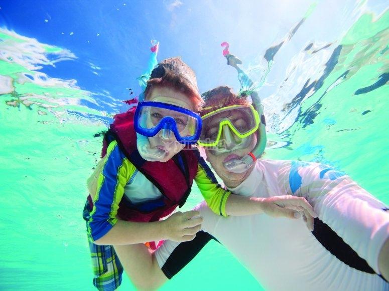 Snorkel in Playa la Delivery