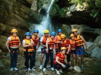 Canyoning + food + hosting, Las Bocas