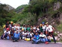 Rappel y cañón El Palmar de Guadalupe + hospedaje