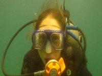 Buzo submarino